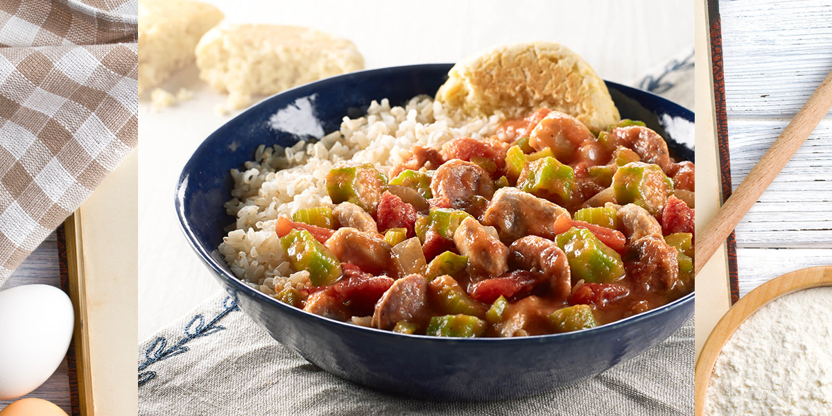 Chicken and Andouille Gumbo Creole