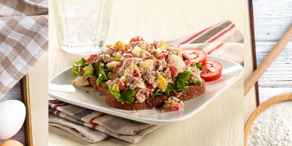 Peppered Tuna Salad