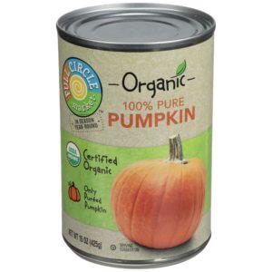 100% Pure Pumpkin – Organic