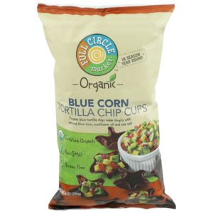 Blue Corn Tortilla Chip Cups – Organic
