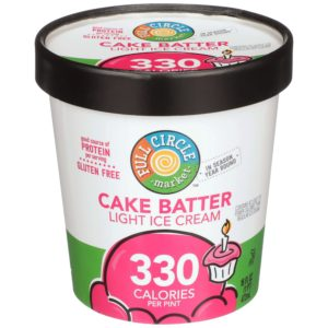 Cake Batter Light Ice Cream
