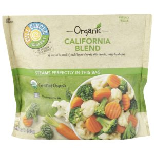California Blend Vegetables – Organic