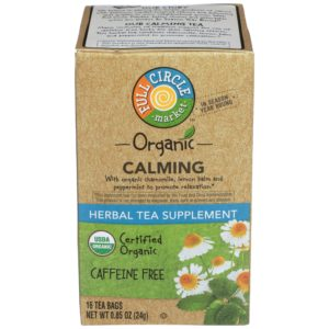 Calming Herbal Tea Supplement – Organic