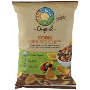 Corn Dipping Chips – Organic