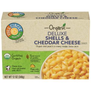 Deluxe Shells & Cheddar Cheese Dinner – Organic