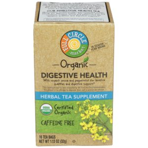 Digestive Health Herbal Tea Supplement – Organic