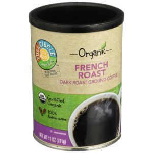 Ground Coffee – French Roast Dark – Organic