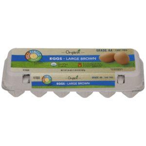 Large Brown Eggs – Organic