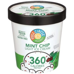Mint Chip Light Ice Cream