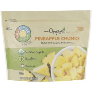 Pineapple Chunks – Organic