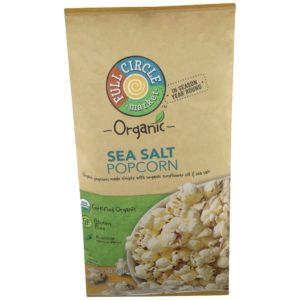 Sea Salt Popcorn – Organic