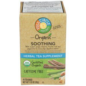 Soothing Herbal Tea Supplement – Organic