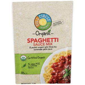 Spaghetti Sauce Mix – Organic