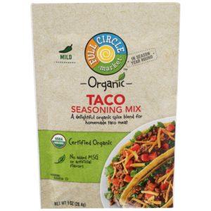 Taco Seasoning Mix – Mild