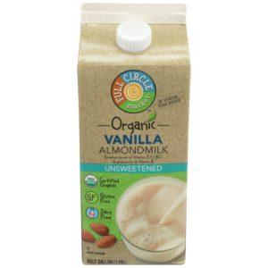 Vanilla Almondmilk – Unsweetened