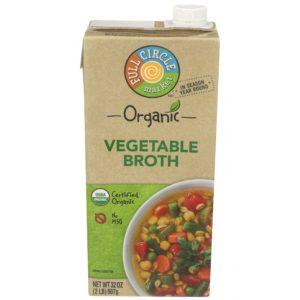 Vegetable Broth – Organic